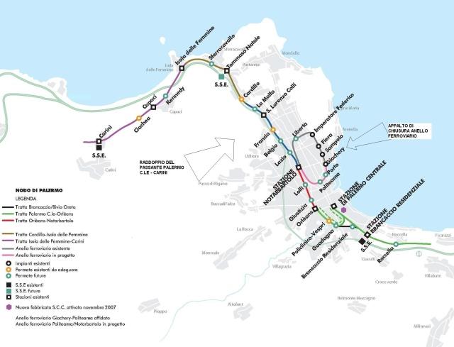 Passante Ferroviario + Anello Ferroviario